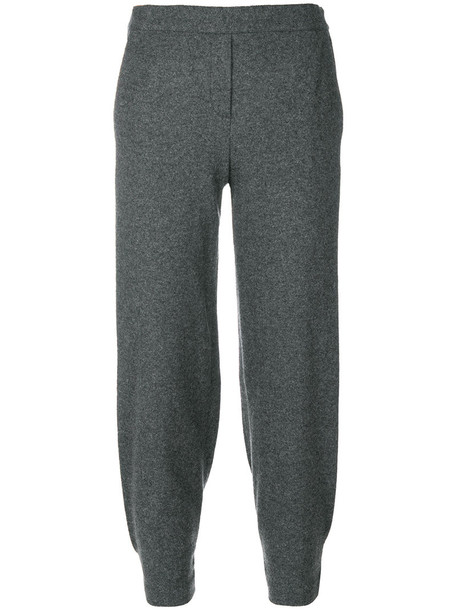 theory casual women spandex fit wool grey pants