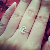 jewels,ring,moon,crescent,jewelry