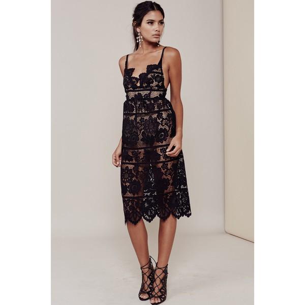 dress shanghaitrends lace dress black lace dress ss16 lace boho chic black dress