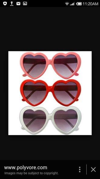 sunglasses heart sunglasses