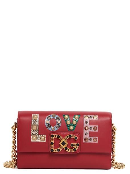 Dolce & Gabbana bag shoulder bag red