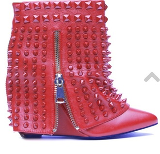 shoes studs boots dope