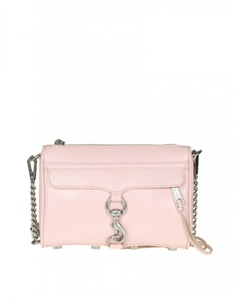 mini leather pink pink leather bag