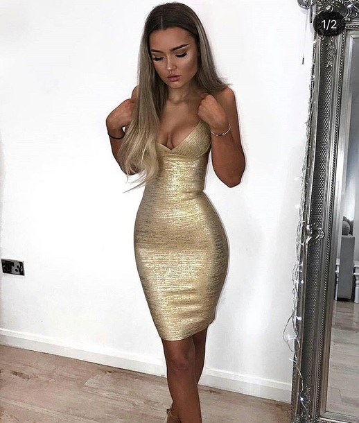 new concept amazon buy best dress, gold, gold dress, bodycon, bodycon dress, party dress ...