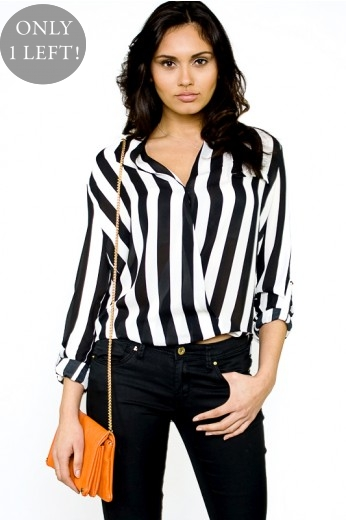 Striped Blouse- $38