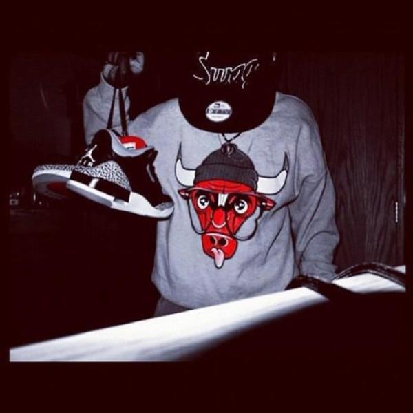 Sweater Swag Chicago Bulls Air Jordan Wheretoget