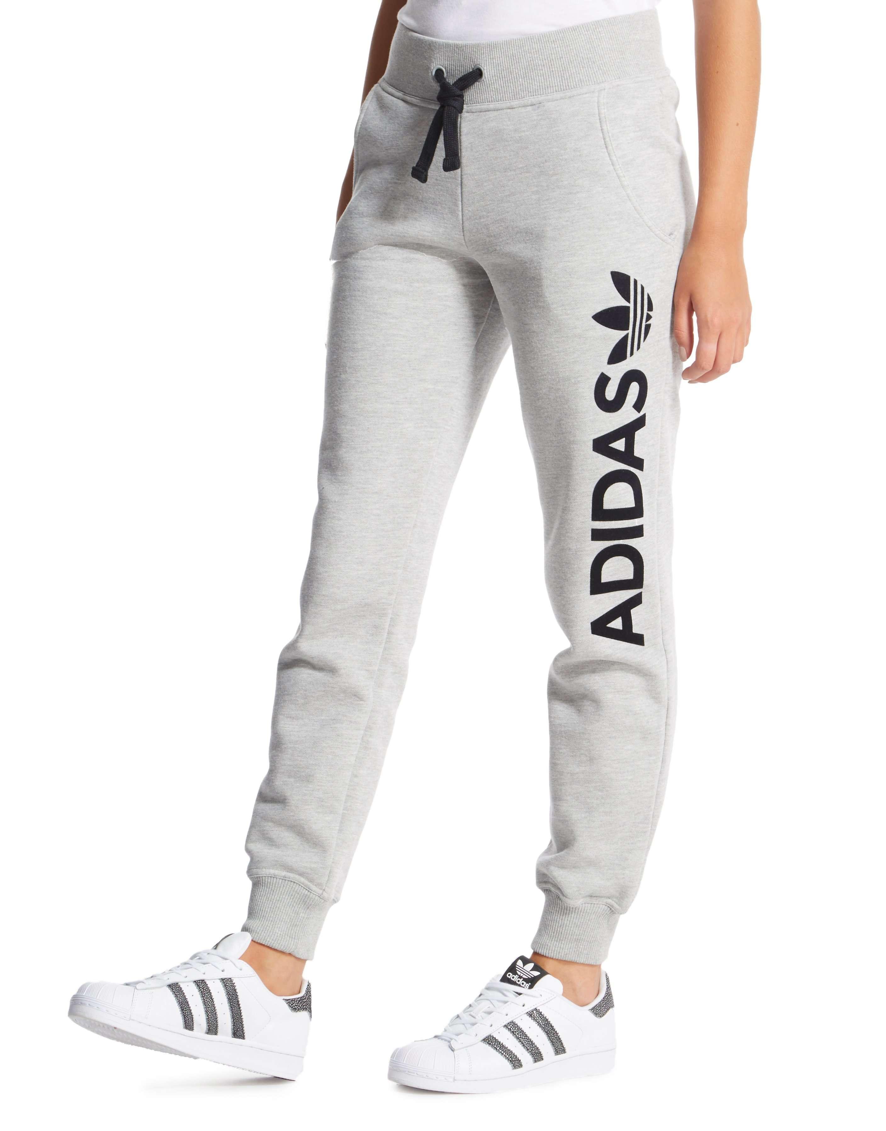 4f2a88b6b91f adidas Originals Linear Logo Fleece Pants