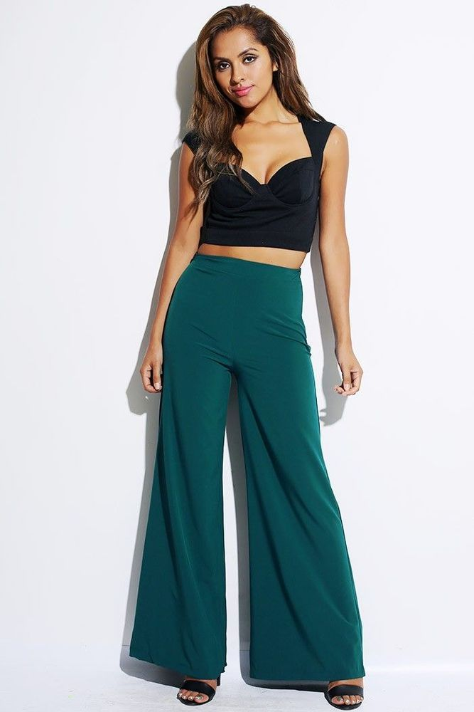 Lethalbeauty ? high waist wide leg pants