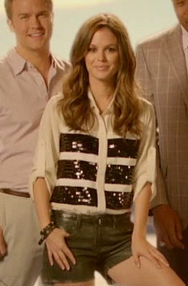 rachel bilson hart of dixie blouse sequence shirt