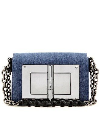 denim bag shoulder bag blue