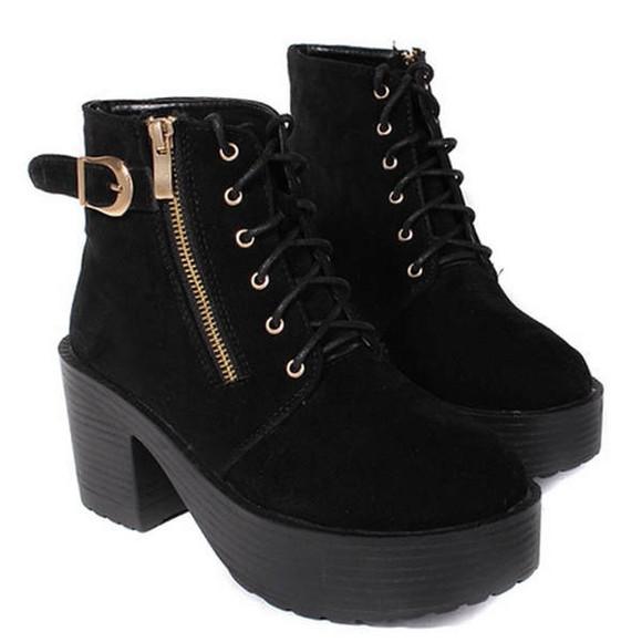 zipper shoes boots