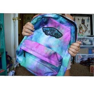 vans galaxy backpack
