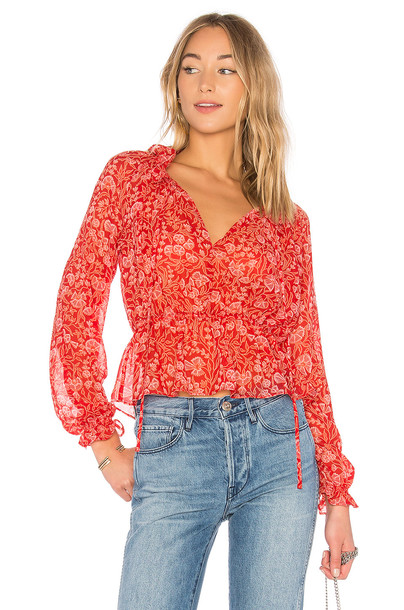 tHE FIFTH LABEL blouse red top