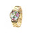 FLORAL GOLD WATCH