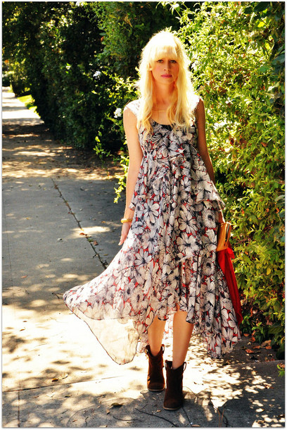 fancy tree house maxi dress