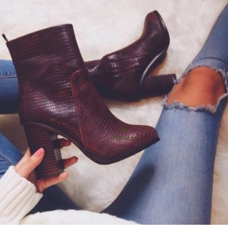 shoes heeled boots boots burgundy shoes burgundy