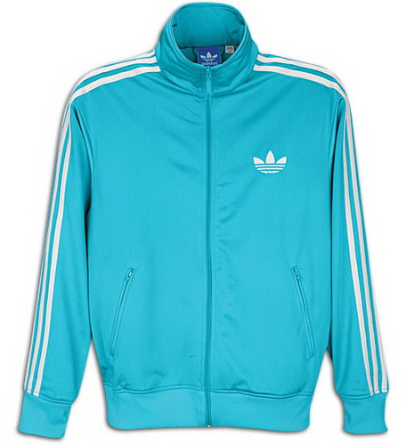and blue adidas jacket