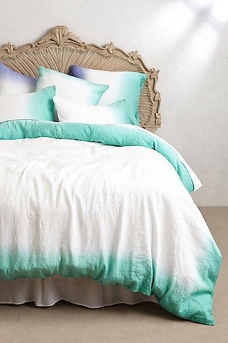 home accessory ombre bedding hipster