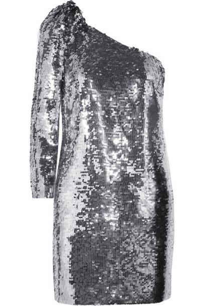 Veronica Beard dress mini dress mini chiffon silver