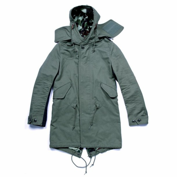 jacket bape parka