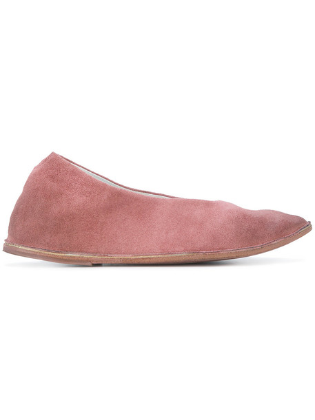 Marsèll women leather suede purple pink shoes