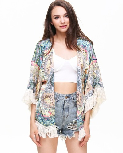 Hippie love paisley print kimono · fashion struck · online store powered by storenvy