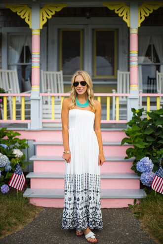 katie's bliss - a personal style blog based in nyc blogger dress jewels shoes romper scarf