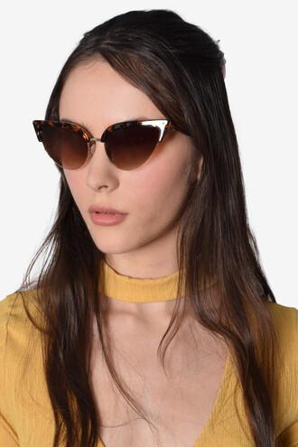 sunglasses cat eye tortoise shell