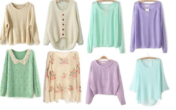 sweater top sweater