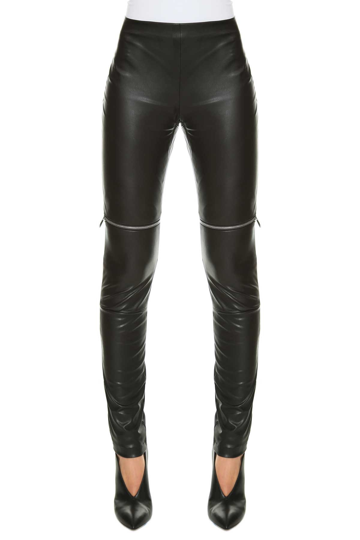 Amen Faux Leather Leggings
