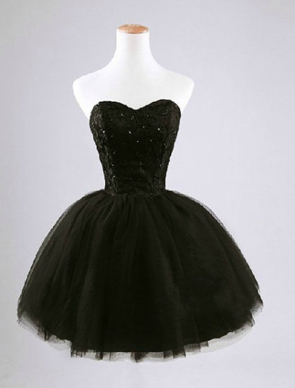 black homecoming homecoming dress homecoming dress ball gown dress