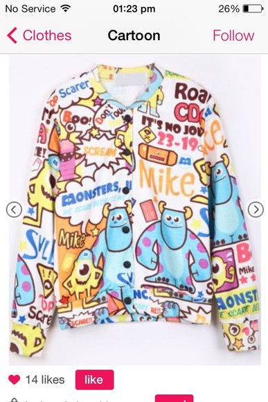 cartoon shirt