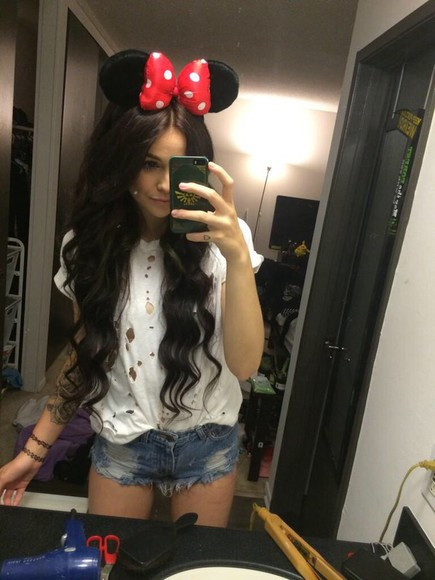 ripped t-shirt white acacia brinley top kendall kylie jenner flower crown military jacket lace lightwash jeans shorts white trainers kardashians