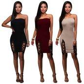 dress,nude,beige,beige dress,slit,slit dress,double slit,wine red,dark red,black,black dress,sleeveless,midi,midi dress,club dress,clubwear,sexy,sexy drss,black sexy dress,beige sexy dress,red,party,party dress,sexy party dresses,date outfit,date dress,holidays,casual,casual dress,prepy,pretty,hot,cool,tight,bodycon dress,clubwear outfit,tumb,casual chic,lace up,open leg,fashion dress,preppy,girly wishlist,moraki,bodycon beige dress,double slit skirt,little black dress,sleeveless dress,strapless,black strapless dress,black midi dress,tube dress,holiday season,holiday outfit,holiday dress,knee high,tumblr outfit,american apparel,summer,summer dress,summer outfits,summer holidays,vacation outfits,lace up dress,girly dress,girl