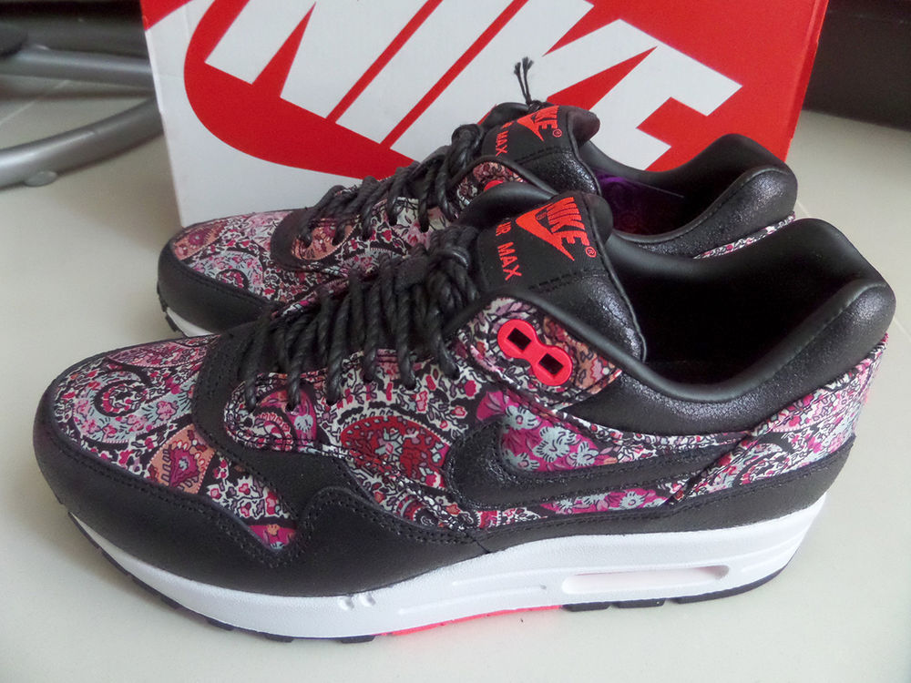 100 Auth Nike Women's Air Max 1 Liberty QS London Bourton Armory Sz 5 5 8 Limit | eBay