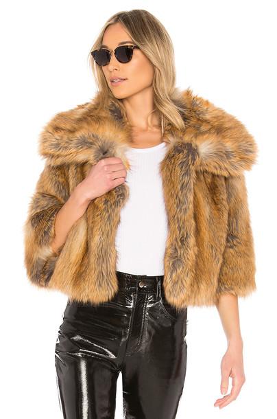 coat faux fur coat fur coat fur faux fur tan
