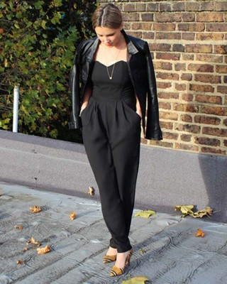 LOVE Black Strapless Jumpsuit - In Love With Fashion