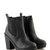 Suzy Black PU Grip Sole Chelsea Boot at Fashion Union