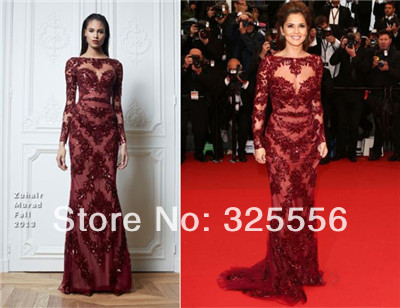 com : Buy 2014 New Arrival Zuhair Murad Evening Dresses Long ...