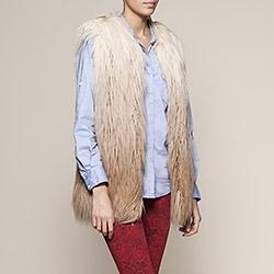Gilet femme sans manches IKKS (BC16085) | Vêtement Femme Hiver 13