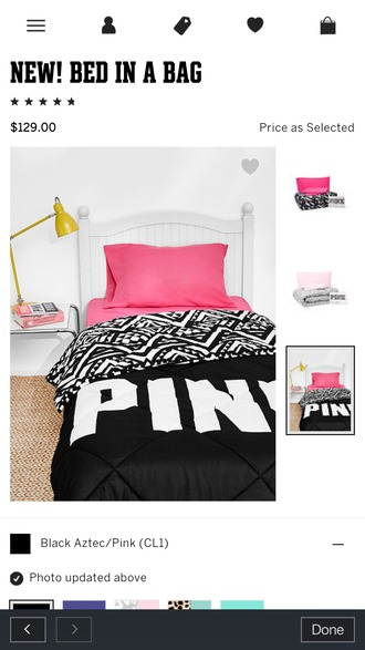 home accessory bedding victoria's secret