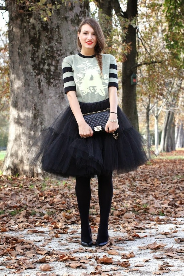 style and trouble skirt bag shoes sweater