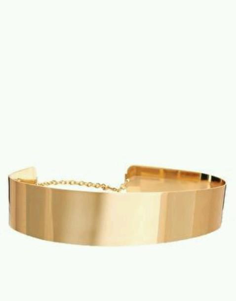 belt gold belt