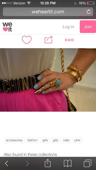 nail accessories jewels rings and tings belt
