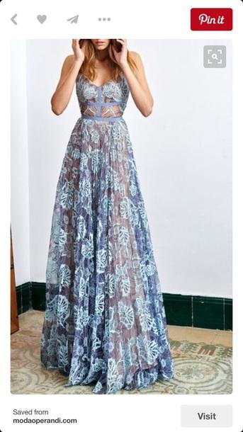 cda6b89ad0e dress alexis maxi blue dress lace dress maxi dress prom blue prom dress  prom dress blue