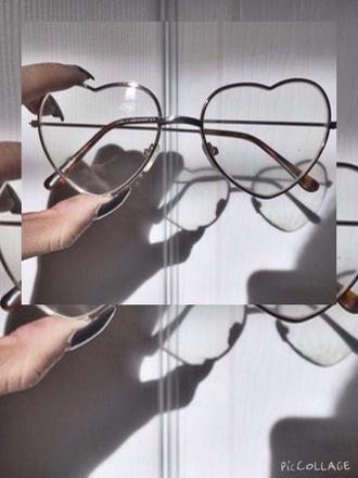 sunglasses glasses heart