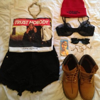 shirt shoes tupac. shorts underwear phone case middle finger tupac 2pac trust nobody shirt the middle