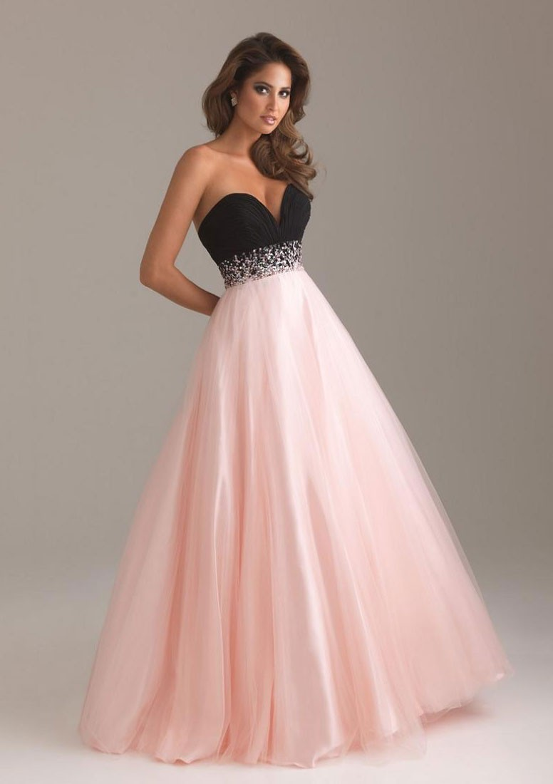 A Line Empire Floor Length Bodice Beaded Waistband Party Dress   Formal  Dresses