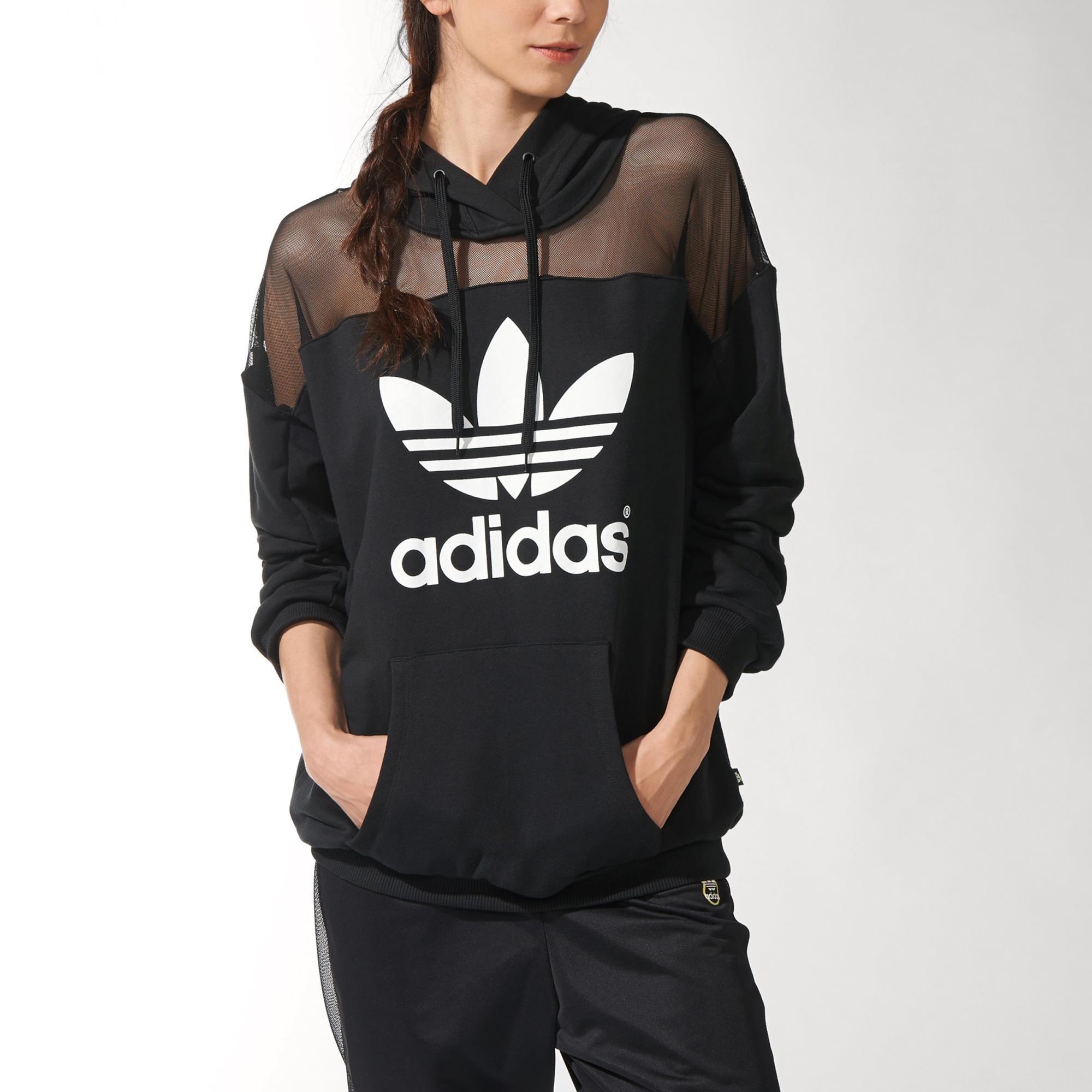 Adidas rita ora logo hoodie