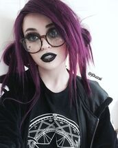 shirt,goth,sakura card captor,aesthetic,tumblr,nu goth,punk rock,pastel goth,alternative